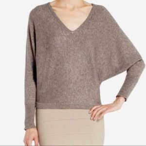 BCBGMAXAZRIA Dolman Sweater Wyatt Grey Dusk Combo